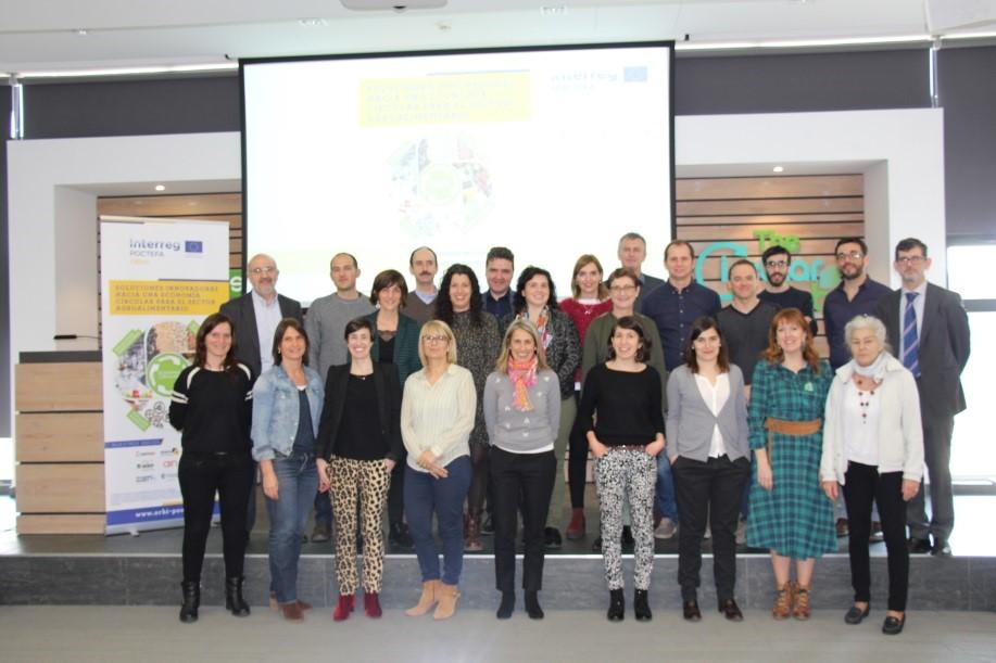 Foto del Equipo de Trabajo ORHI en la sede de The Circular Lab (Logroño)